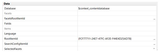 Sitecore Speak list properties